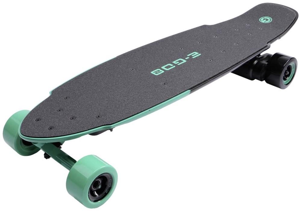 Yuneec E-GO 2 Elektro Cruiser Cool Mint Elektro-Skateboard - Preisvergleich