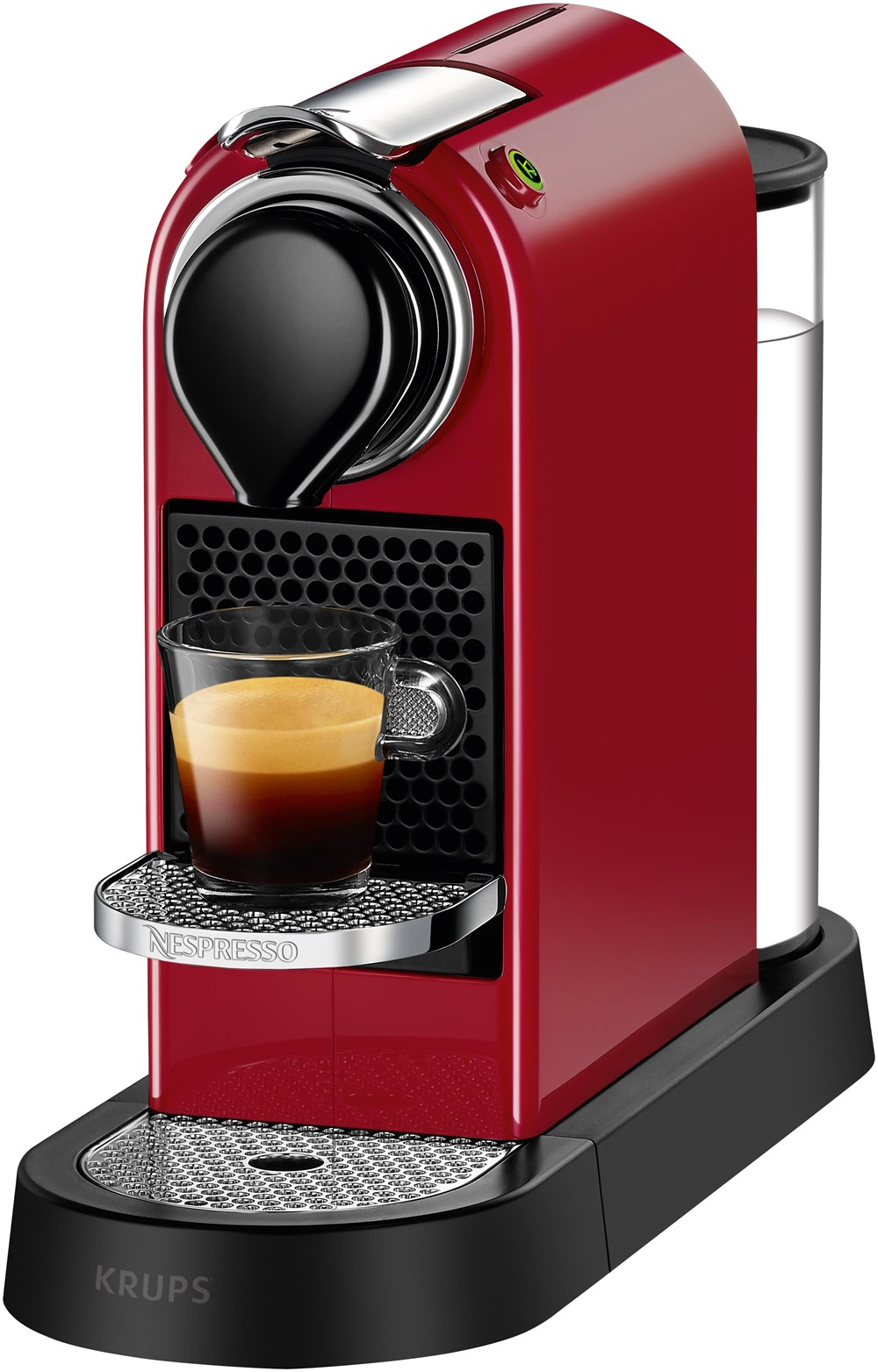 krups citiz nespresso xn7405 cherry rot coffee pod capsule machines computeruniverse. Black Bedroom Furniture Sets. Home Design Ideas