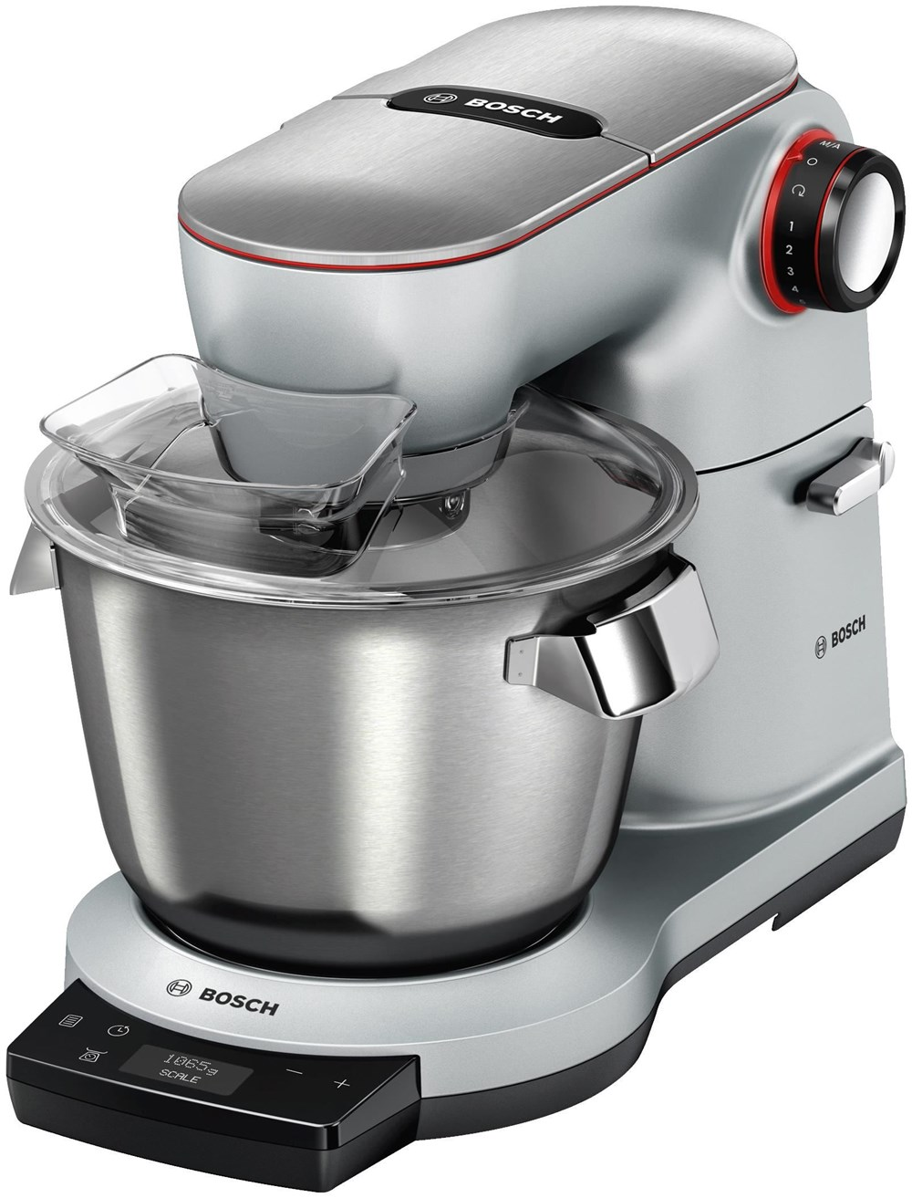 Bosch MUM9AX5S00 Küchenmaschine OptiMUM platinum silver - Kitchen ...