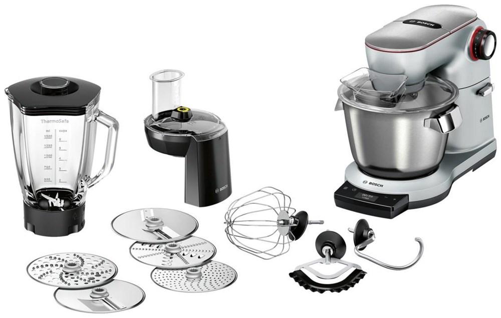 Bosch MUM9DT5S41 Küchenmaschine OptiMUM platinum silver - Kitchen ...