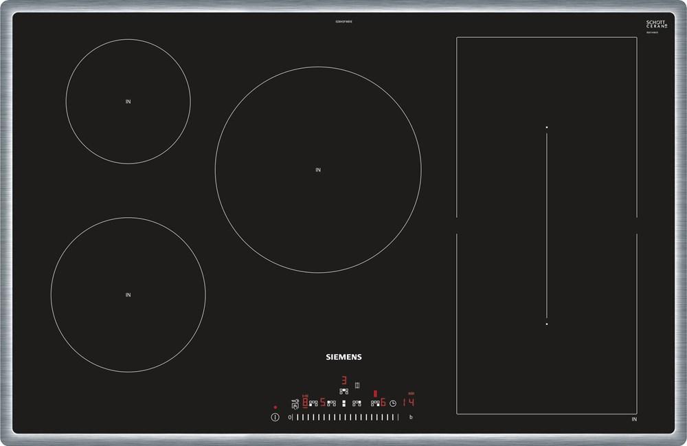 Siemens ED845FWB1E Einbau-Kochmulde schwarz