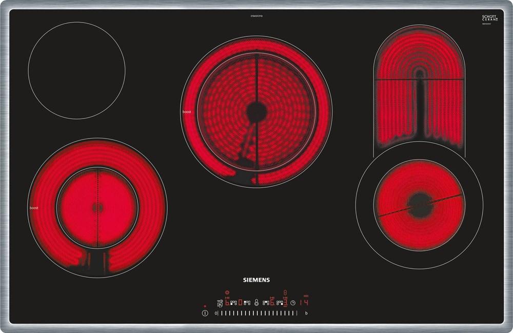 Siemens ET845FCP1D Einbau-Kochmulde schwarz