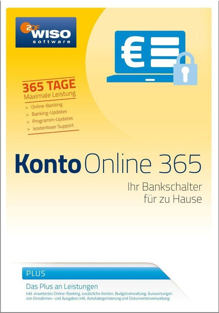 WISO Konto Online Plus 365 (PC).
