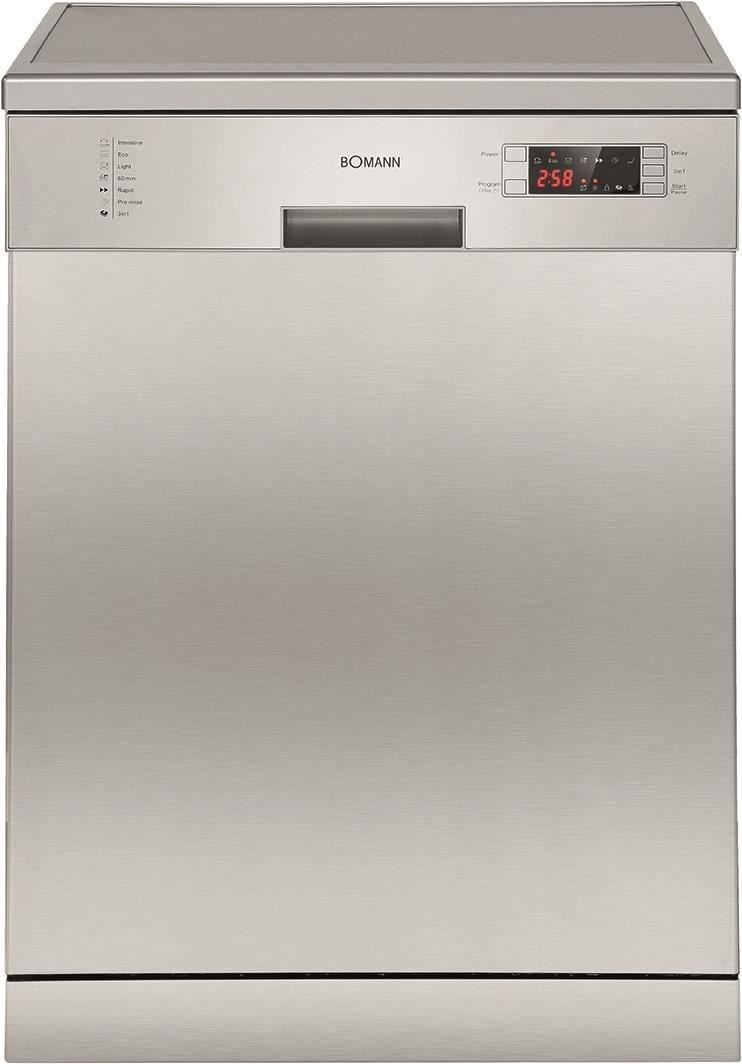 Bomann gsp 858 ix stand unterbau geschirrspuler edelstahl for Geschirrspüler front