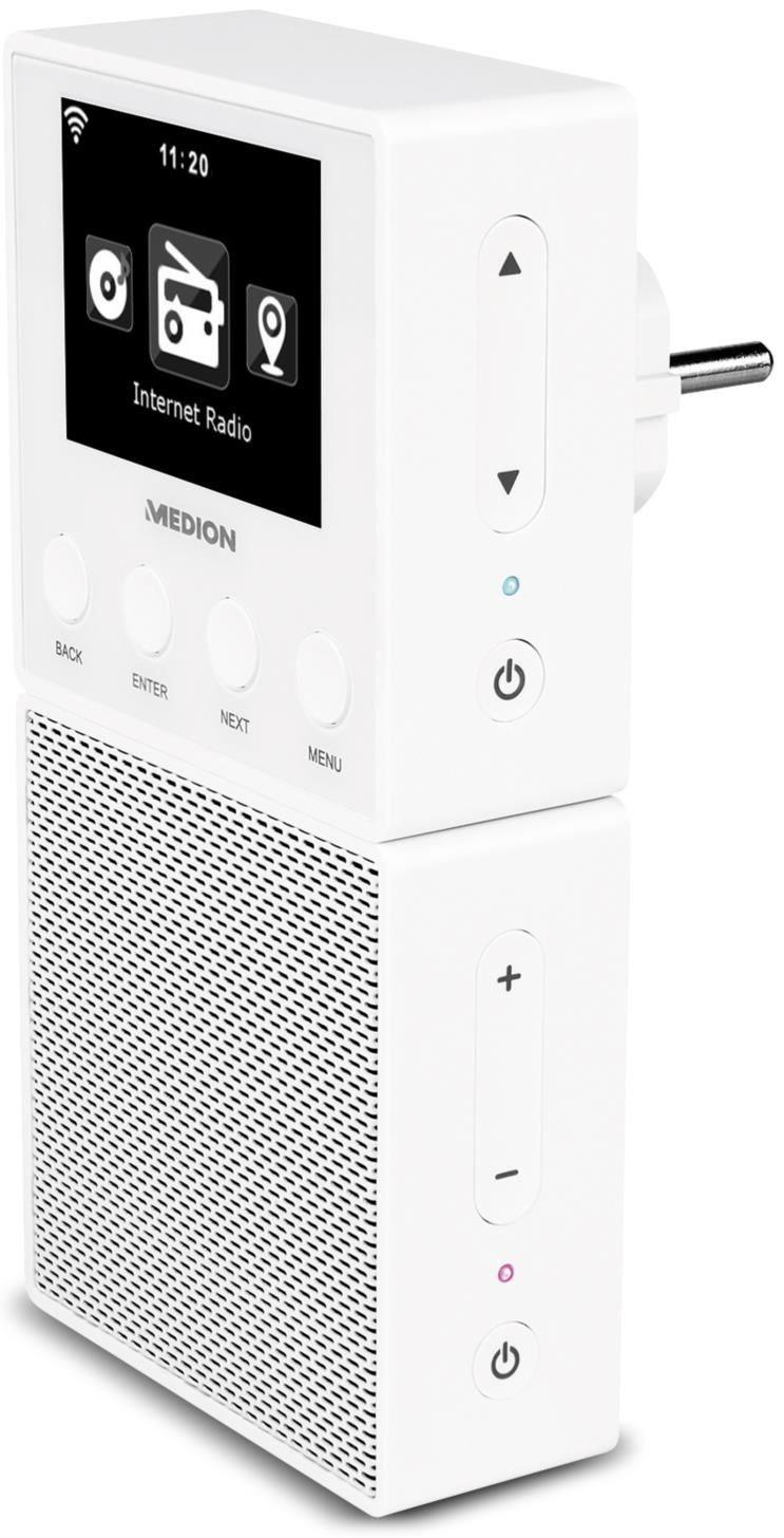 Medion E85032 (MD 87248) Steckdosen Internetradio - Preisvergleich