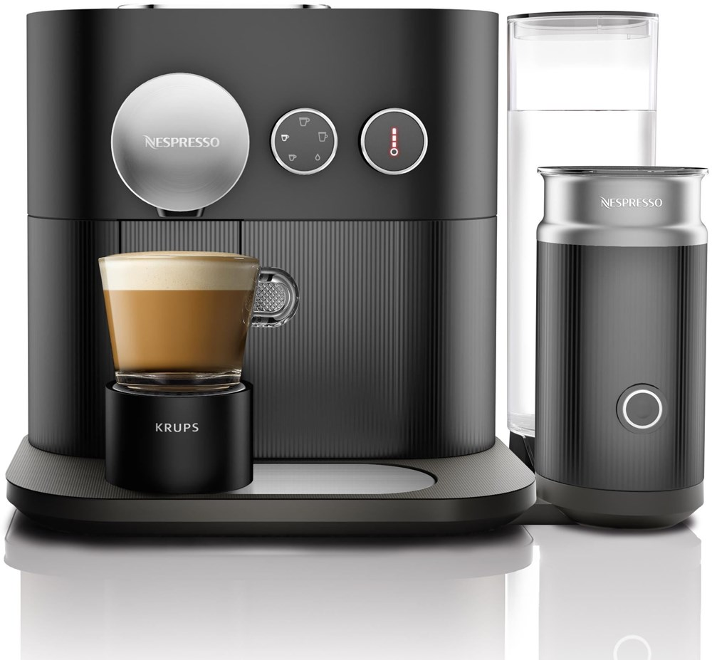 krups expert milk xn6018 nespresso schwarz coffee pod capsule machines computeruniverse. Black Bedroom Furniture Sets. Home Design Ideas
