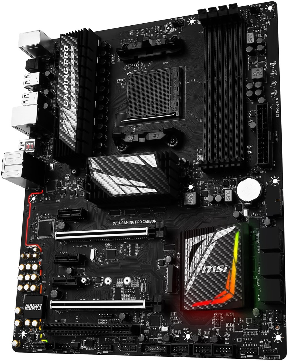 msi 970a gaming pro carbon motherboards computeruniverse. Black Bedroom Furniture Sets. Home Design Ideas