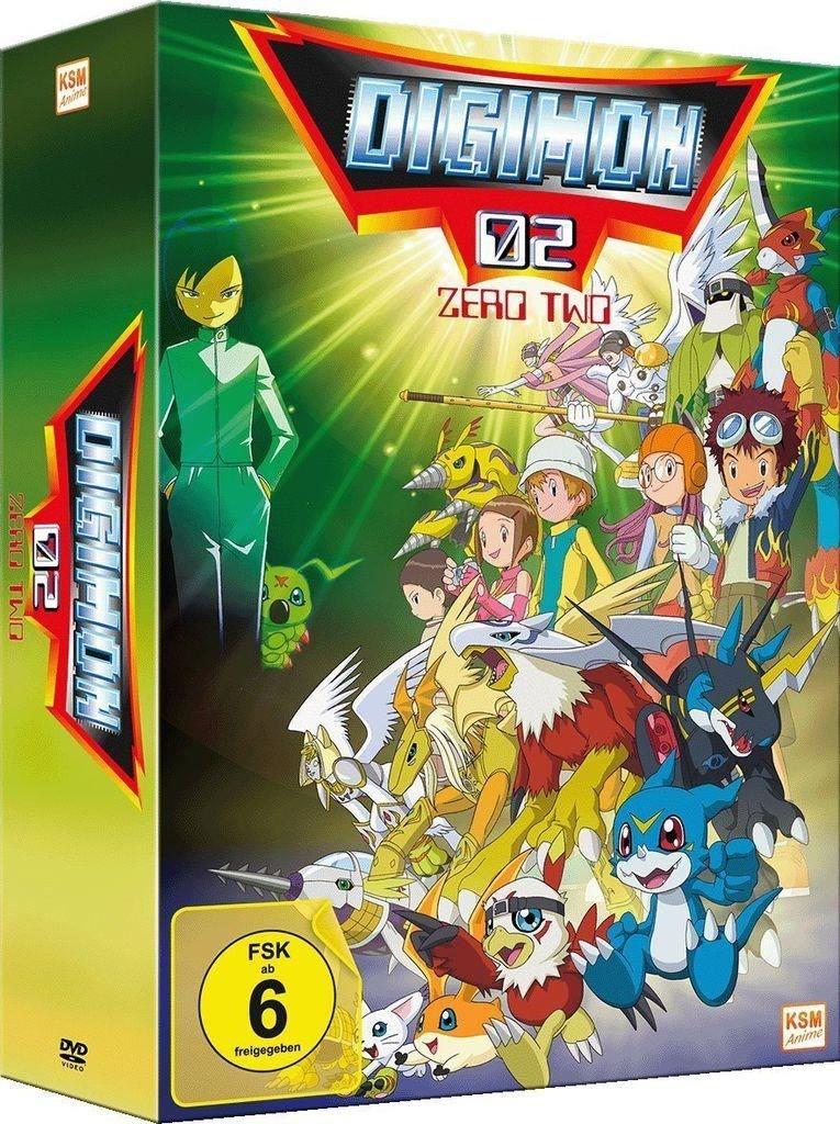 Digimon Adventure 02 im Sammelschuber (Volume 1: Episode 01-17) (3 Disc Set)