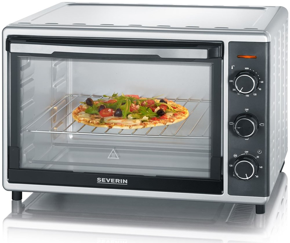 Severin TO 9630 Toast-Ofen silber