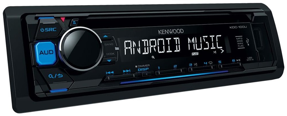 kenwood kdc 100ub blau car hifi video computeruniverse. Black Bedroom Furniture Sets. Home Design Ideas