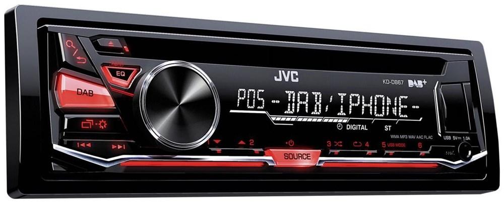 JVC KD-DB67 inkl. DAB-Antenne