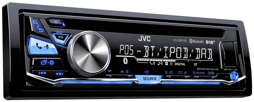 JVC KD-DB97BT inkl. DAB-Antenne
