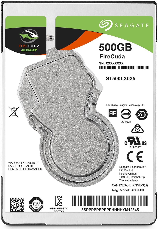 Seagate FireCuda Compute ST500LX025 SSHD 500GB