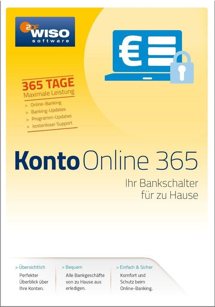 WISO Konto Online 365 Box (PC) DE - broschei