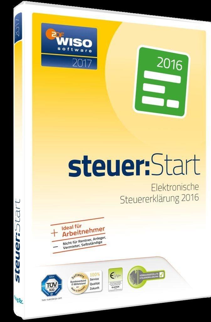 Buhl Data WISO Steuer:Start 2017 (für Steuerjahr 2016) (PC)
