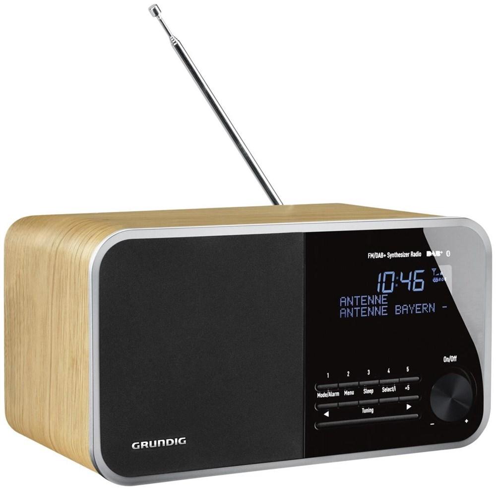 grundig dtr 4000 dab bt oak radios und radiowecker. Black Bedroom Furniture Sets. Home Design Ideas