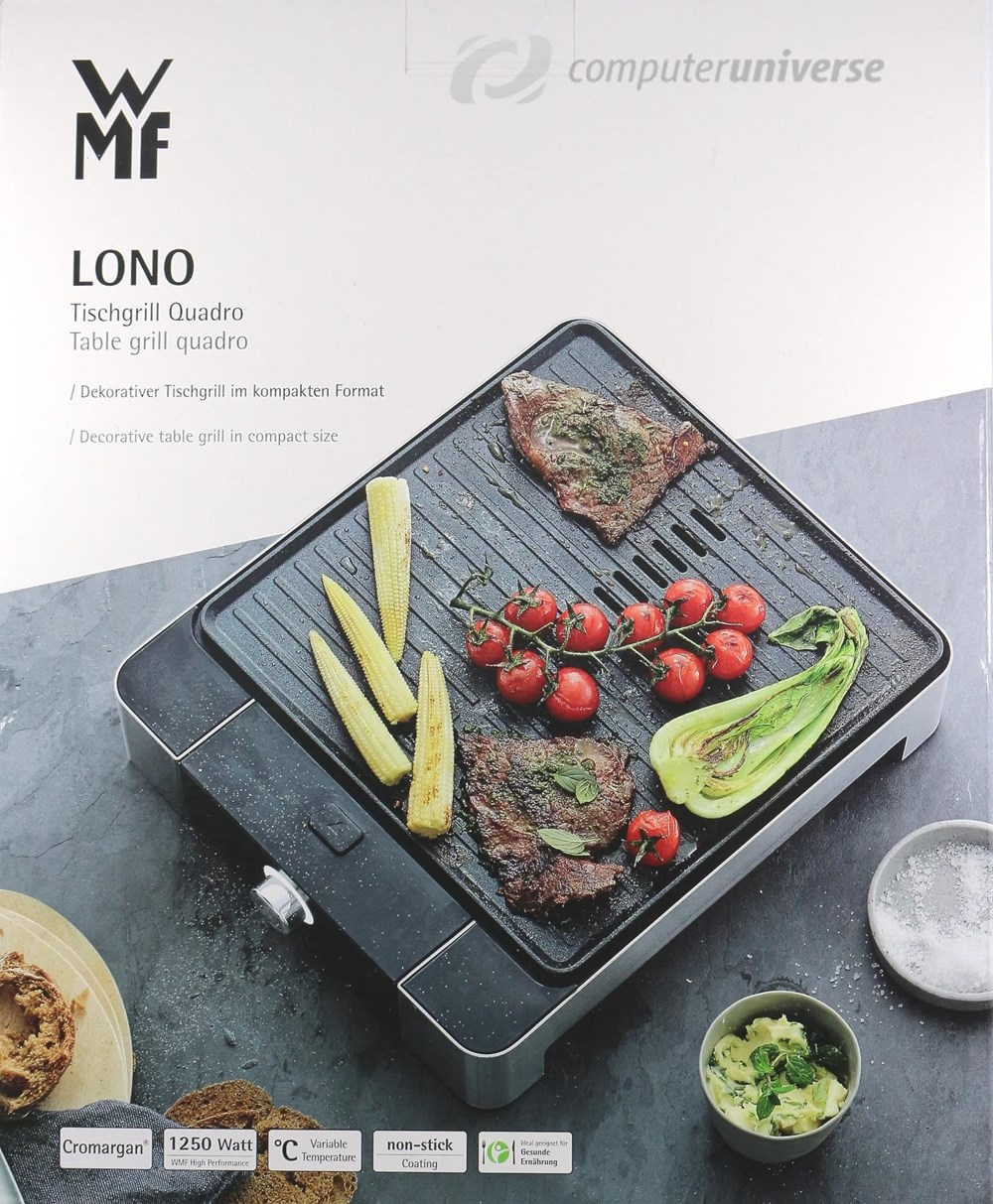 wmf lono quadro grill grills computeruniverse. Black Bedroom Furniture Sets. Home Design Ideas
