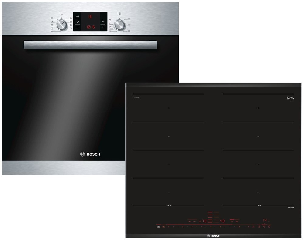 bosch hbd32pf52 einbauherd set integrated cookers. Black Bedroom Furniture Sets. Home Design Ideas