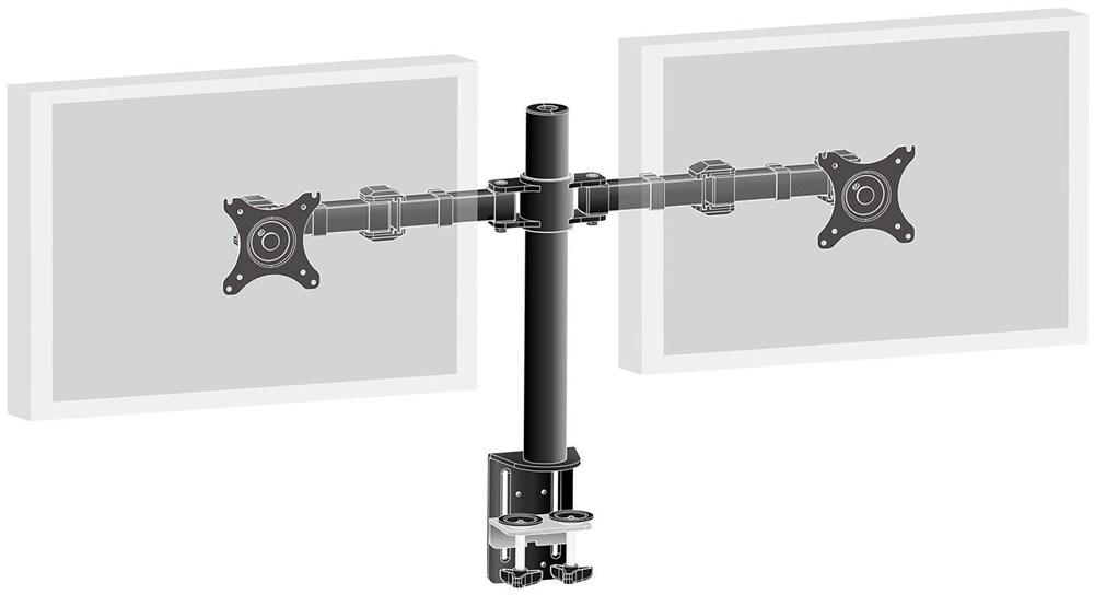 iiyama ds1002c b1 2 fach 10 30 monitorhalter wand deckenhalterung computeruniverse. Black Bedroom Furniture Sets. Home Design Ideas