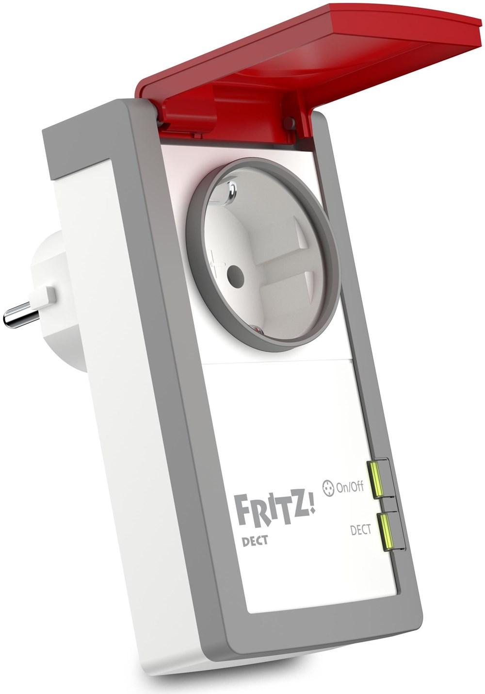 AVM FRITZ!DECT 210 intelligente Steckdose für Haus und Garten ...