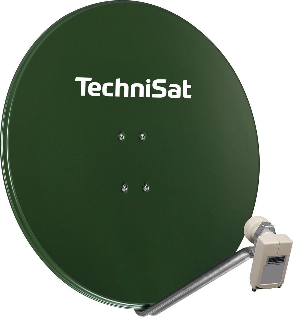 TechniSat Satman 850 mit Adapter und 40mm Twin-LNB grün - Preisvergleich