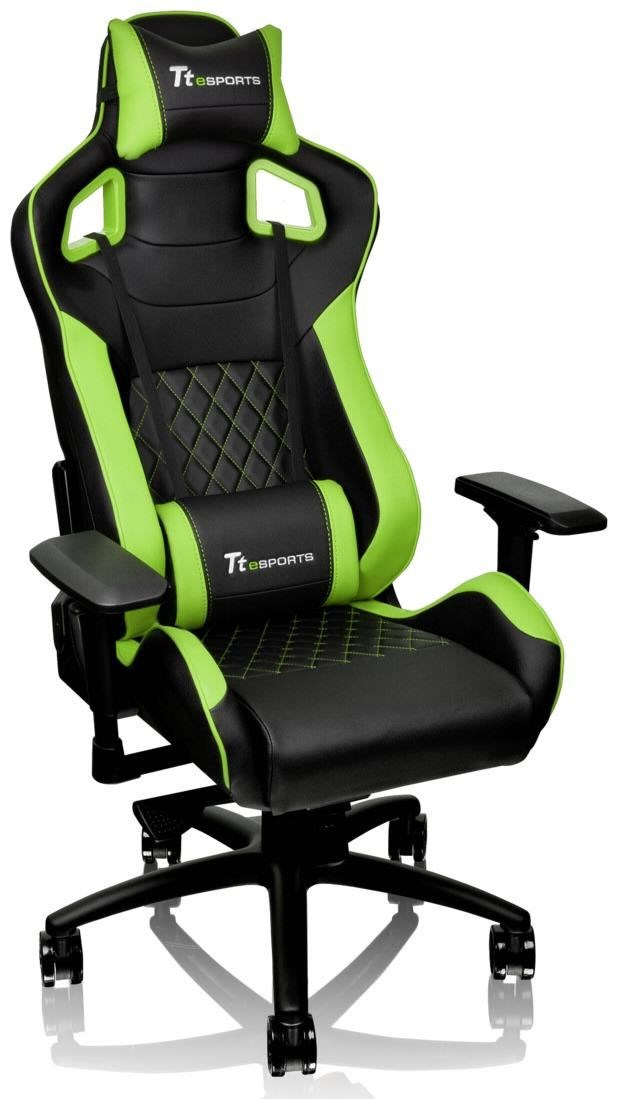 tt esports gt fit 100 gaming chair schwarz gr n gaming st hle computeruniverse. Black Bedroom Furniture Sets. Home Design Ideas