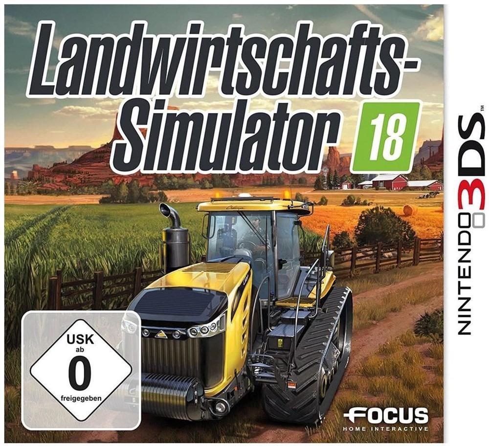 Landwirtschafts-Simulator 18 (3DS) - Nintendo 3DS Spiele ...