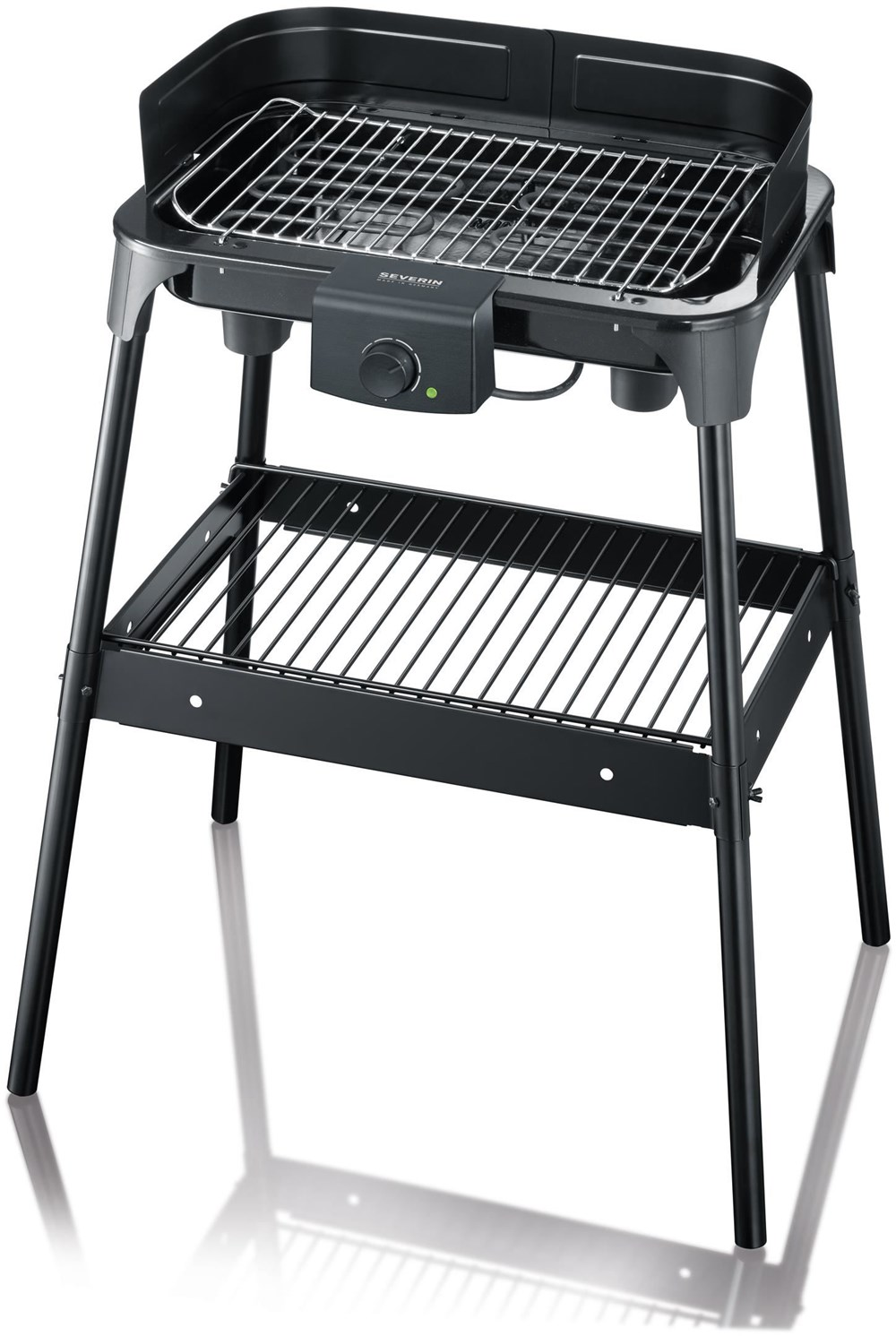 severin pg8532 barbecue grill schwarz grills computeruniverse. Black Bedroom Furniture Sets. Home Design Ideas