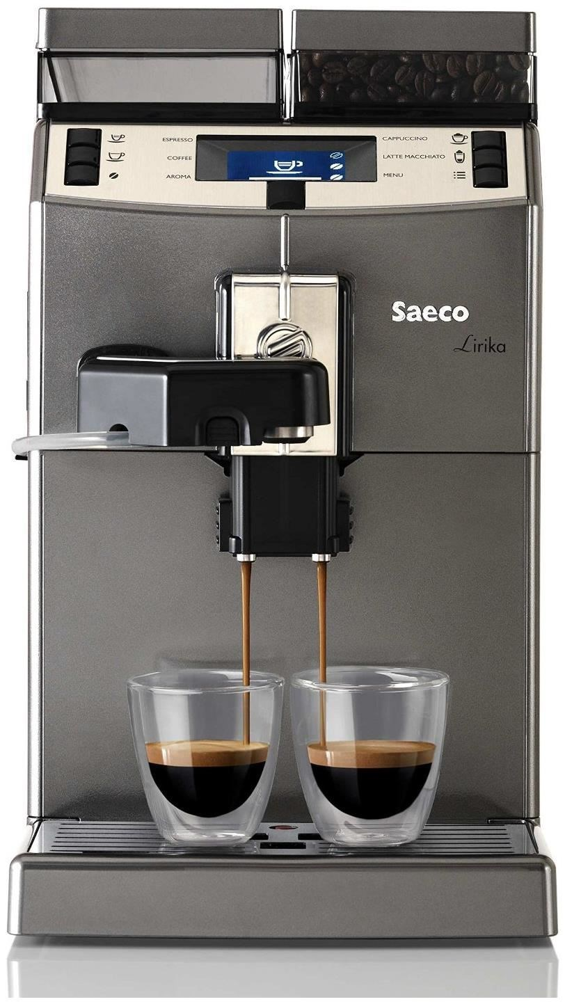 saeco lirika one touch cappuccino kaffeevollautomat bean to cup coffee machines computeruniverse. Black Bedroom Furniture Sets. Home Design Ideas