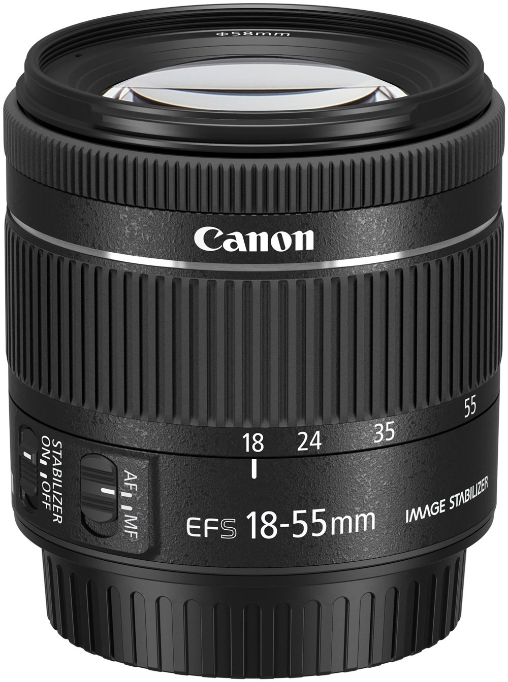 canon ef s 18 55mm f 4 0 5 6 is stm standard zoom objektiv kameraobjektive computeruniverse. Black Bedroom Furniture Sets. Home Design Ideas