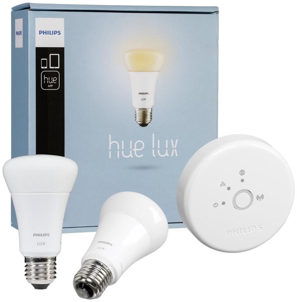 philips hue lux led lampe e27 starter set inkl bridge 1 0 leuchtmittel computeruniverse. Black Bedroom Furniture Sets. Home Design Ideas