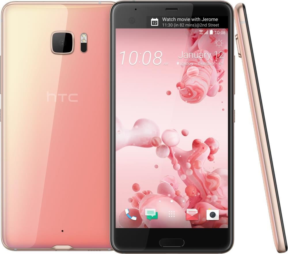 HTC U Ultra 64GB Android cosmetic pink