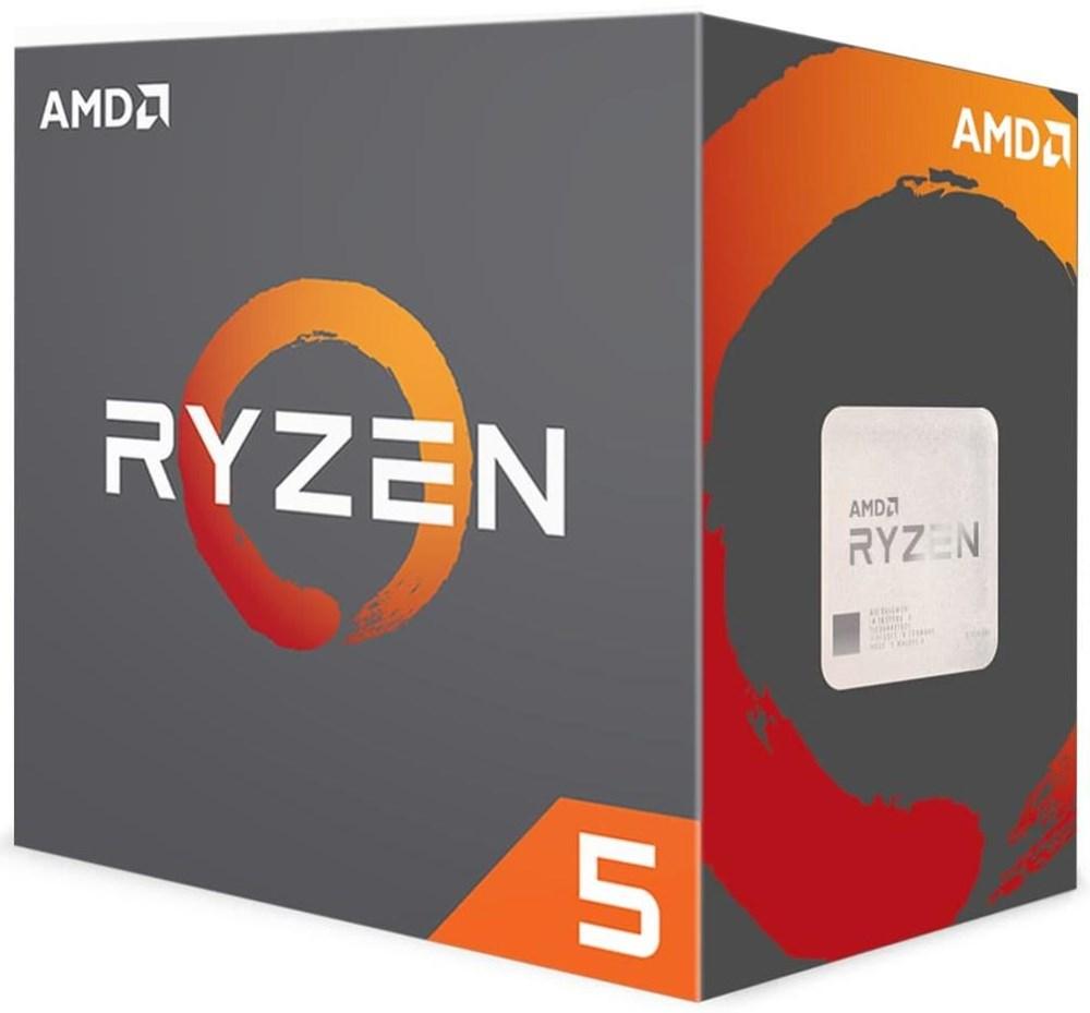 AMD Ryzen 5 1400 Boxed mit Wraith Spire Lüfter