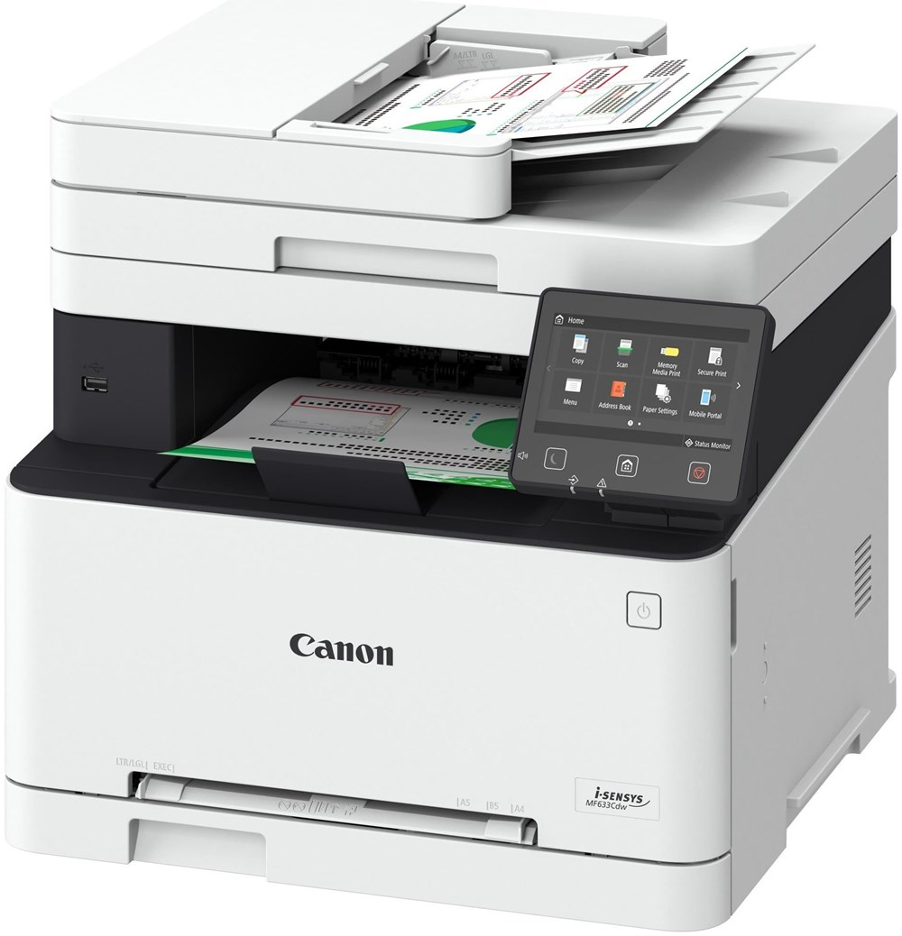 Canon I Sensys Mf633cdw All In One Printers