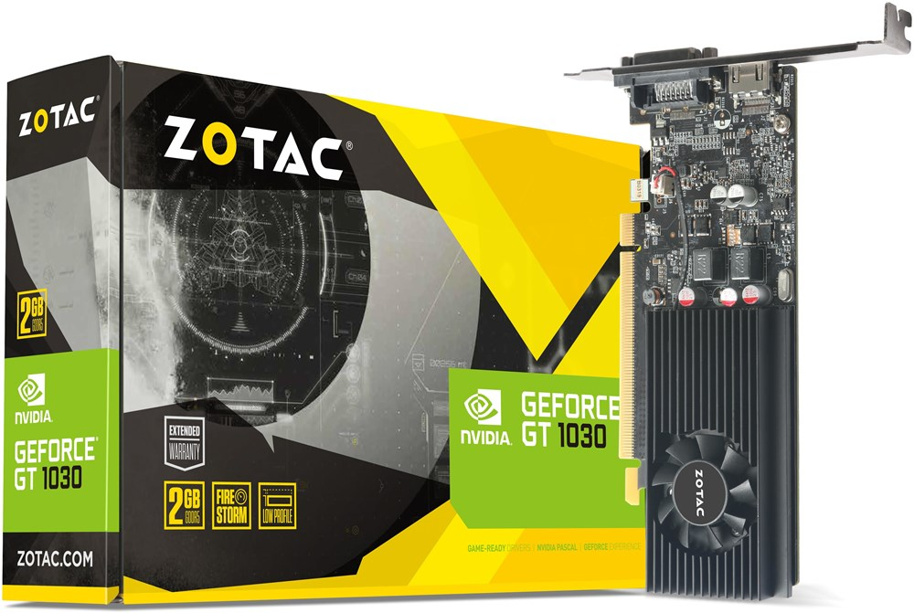 ZOTAC GeForce GT 1030 2GB - PCI Express Graphics Cards ...