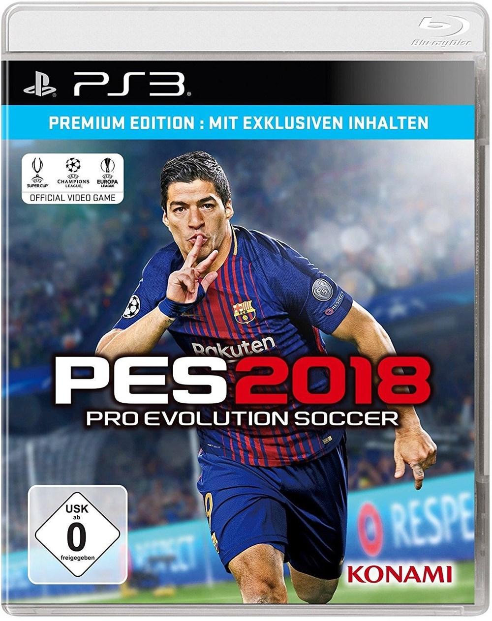 Pro Evolution Soccer 2018 Premium Edition (PES 2018) (PS3 ...