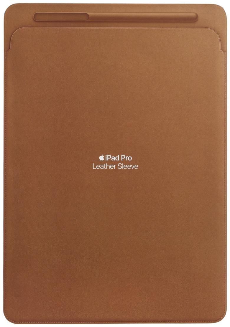 apple lederh lle f r 12 9 ipad pro saddle brown tablet. Black Bedroom Furniture Sets. Home Design Ideas