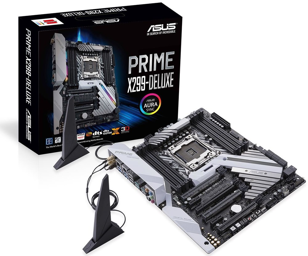 Asus Prime X299-deluxe - Mainboards