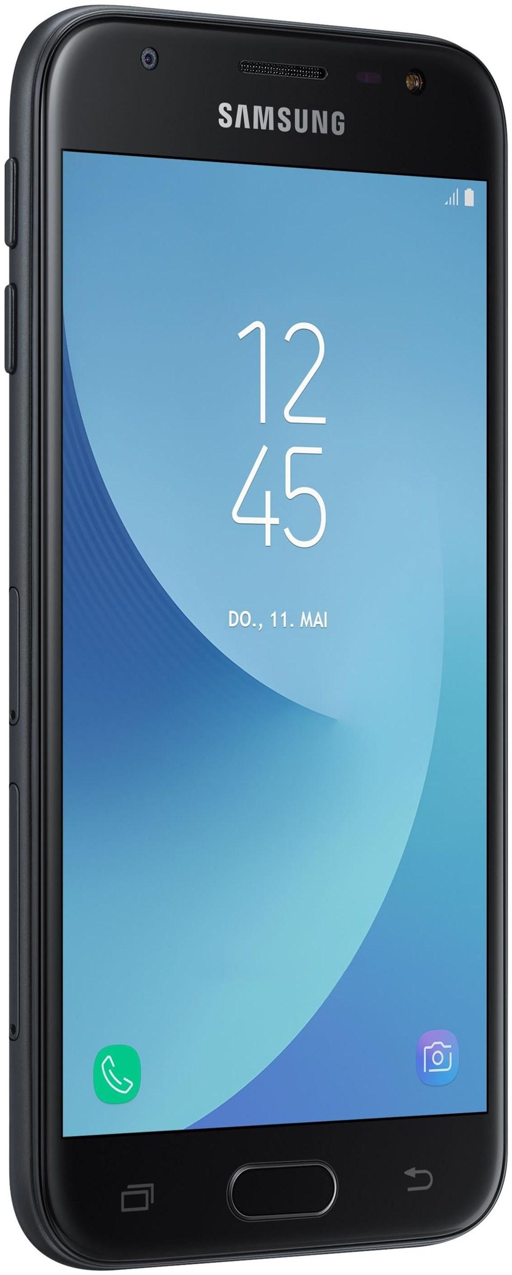 Samsung Galaxy J3 J330F (2017) DUOS schwarz - Smartphones & Handys ...