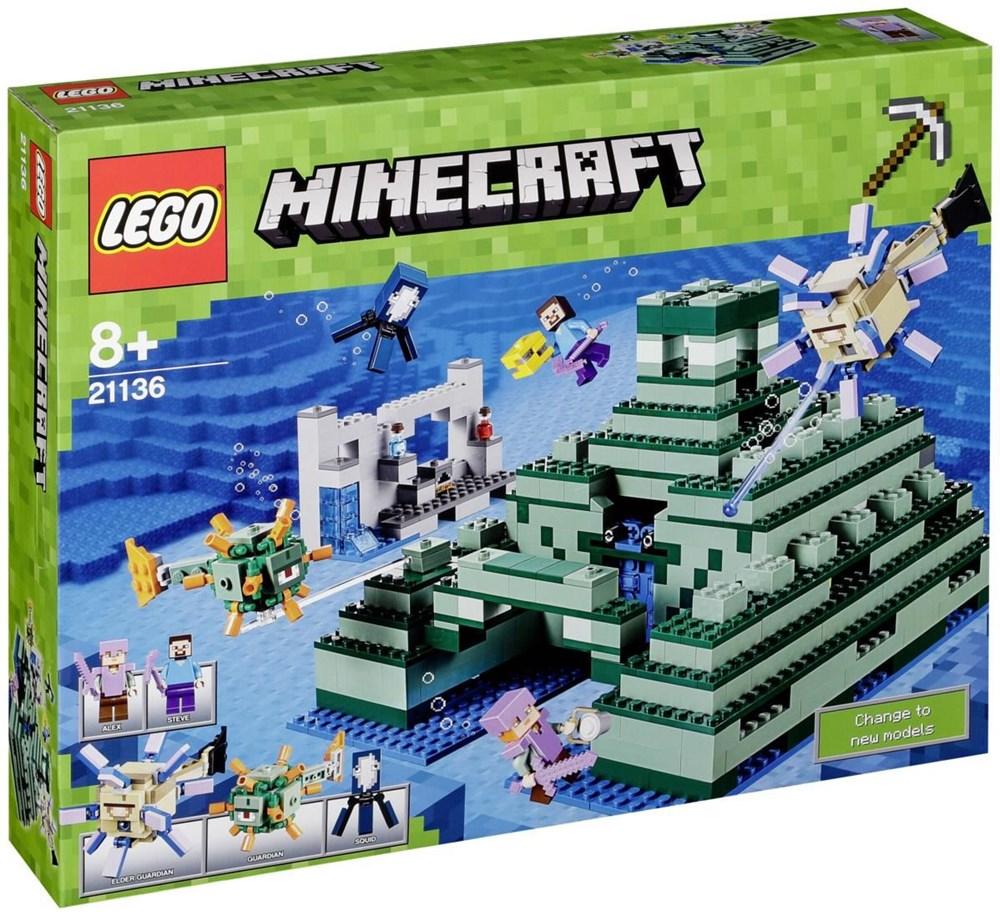 LEGO® Minecraft Das Ozeanmonument (21136)