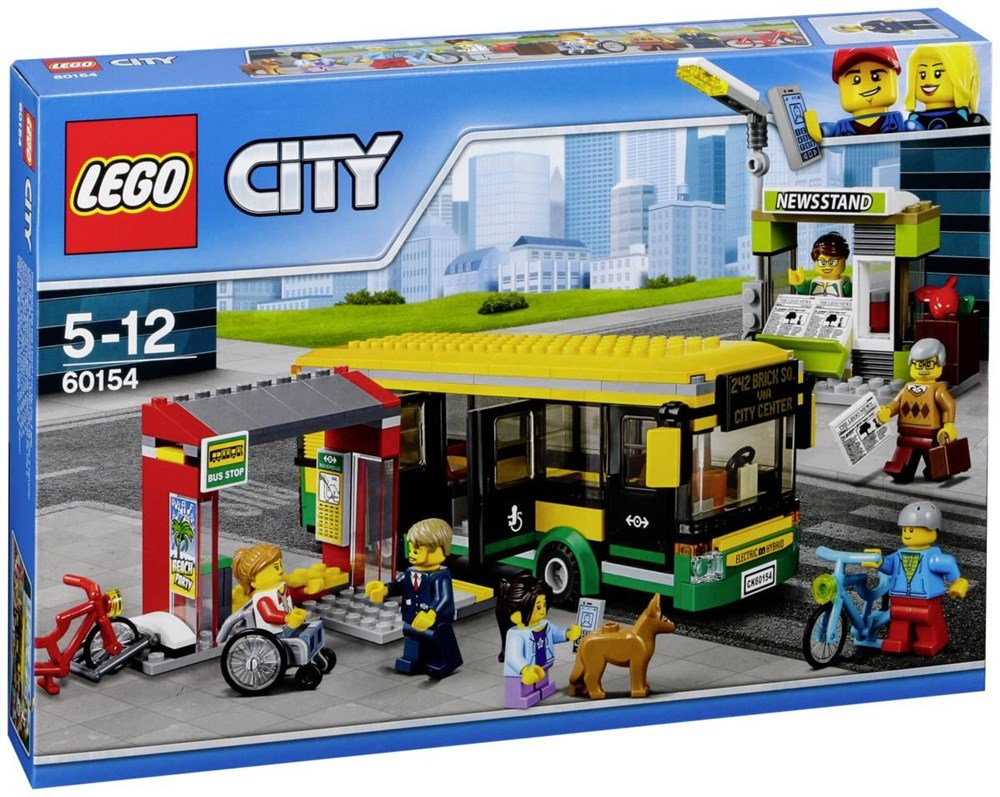 lego city 60154 busbahnhof lego computeruniverse. Black Bedroom Furniture Sets. Home Design Ideas