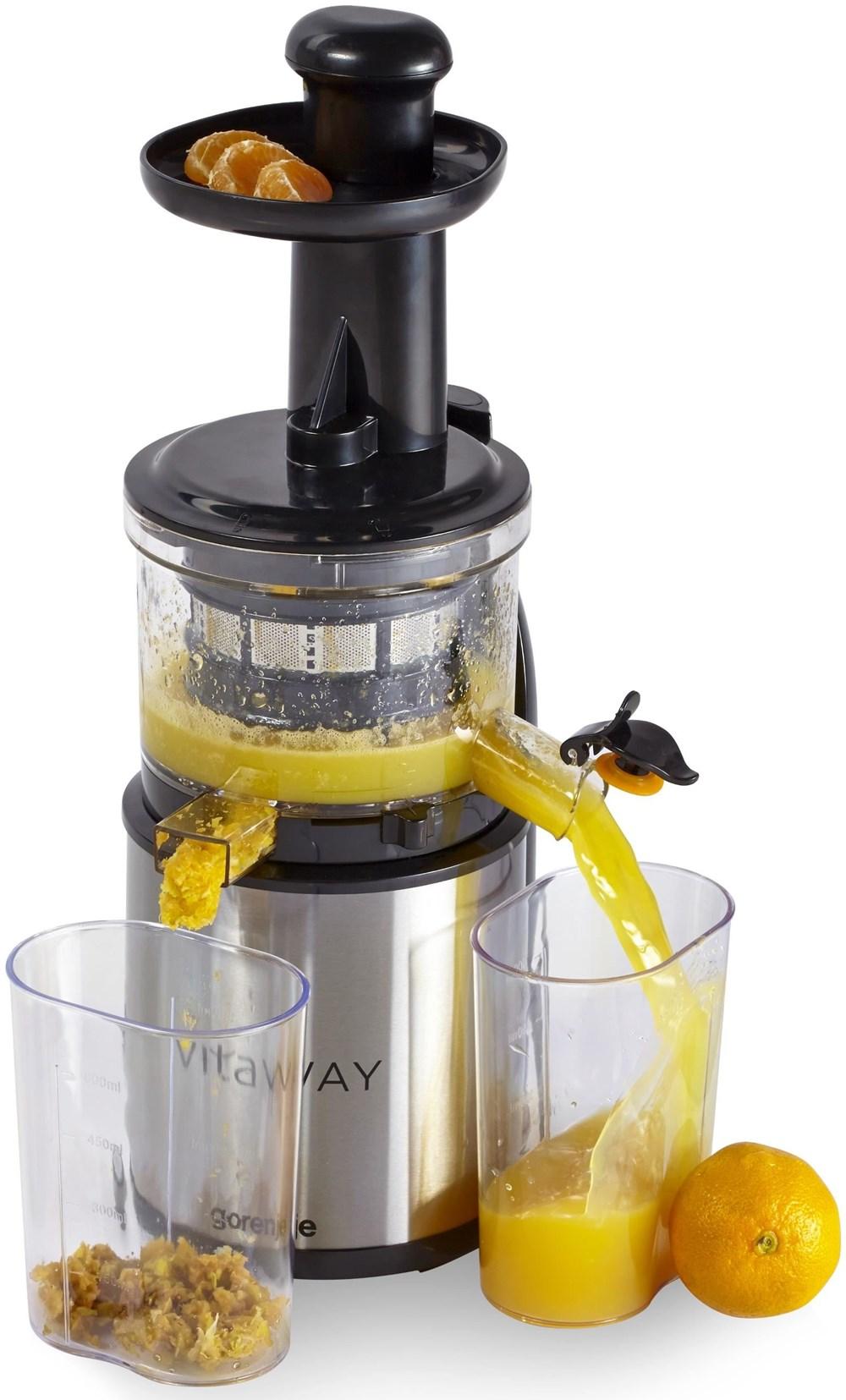 Slow Juicer Bosch : Gorenje JC 4800 vWY vitaWAY Slow-Juicer / Entsafter ...