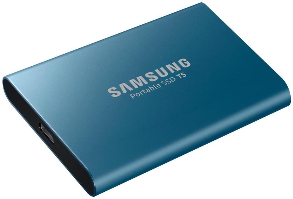 """Samsung SSDex 2.5"""" USB3.1 Portable T5 500GB MU-PA500B/EU"""