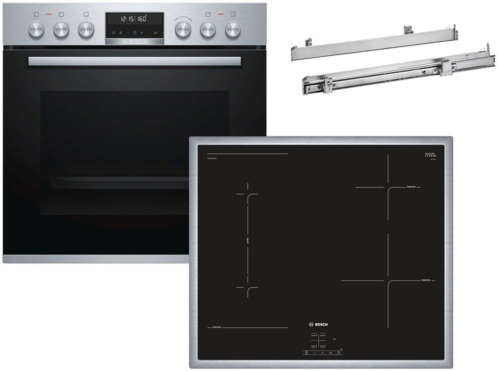 Bosch HND676OS60 Set: NWP645CB2E, HEA578BS1, HEZ538000 (EEK: A)