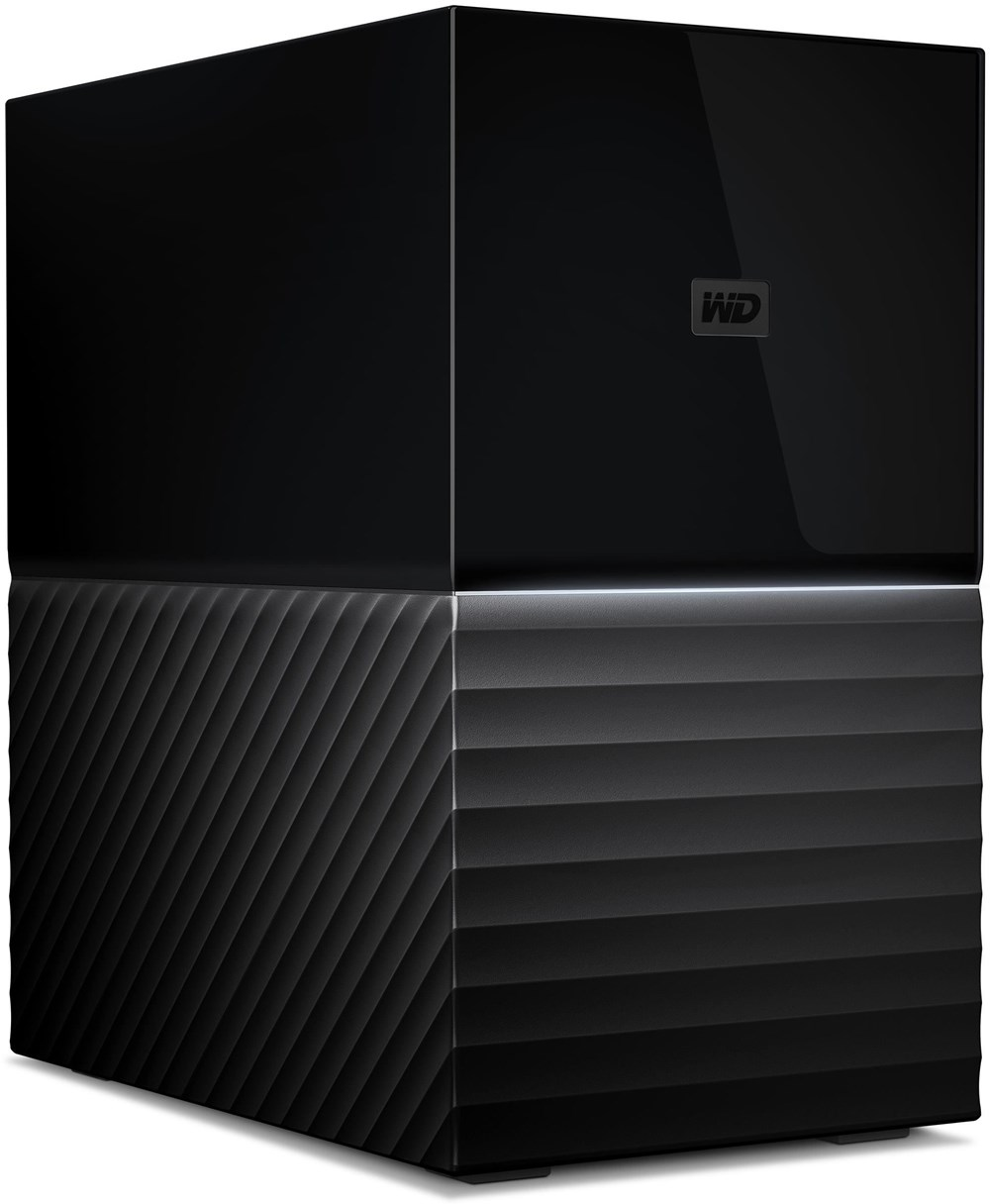 WD My Book Duo RAID Desktopspeicher 8TB WDBFBE0080JBK-EESN