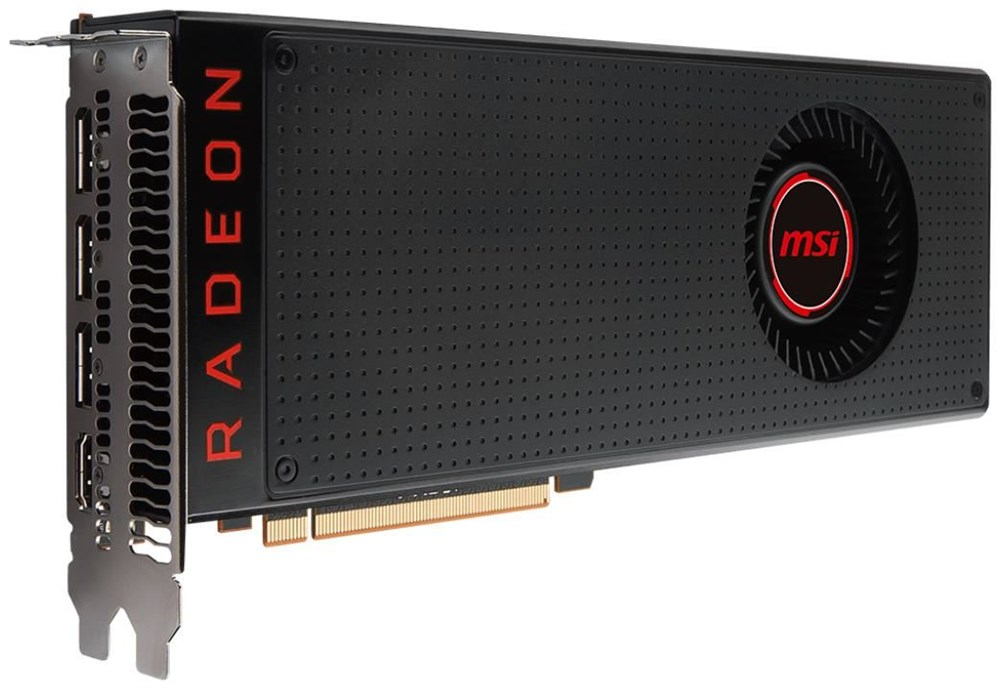 msi radeon rx vega 56 8g 8gb pci express graphics cards. Black Bedroom Furniture Sets. Home Design Ideas
