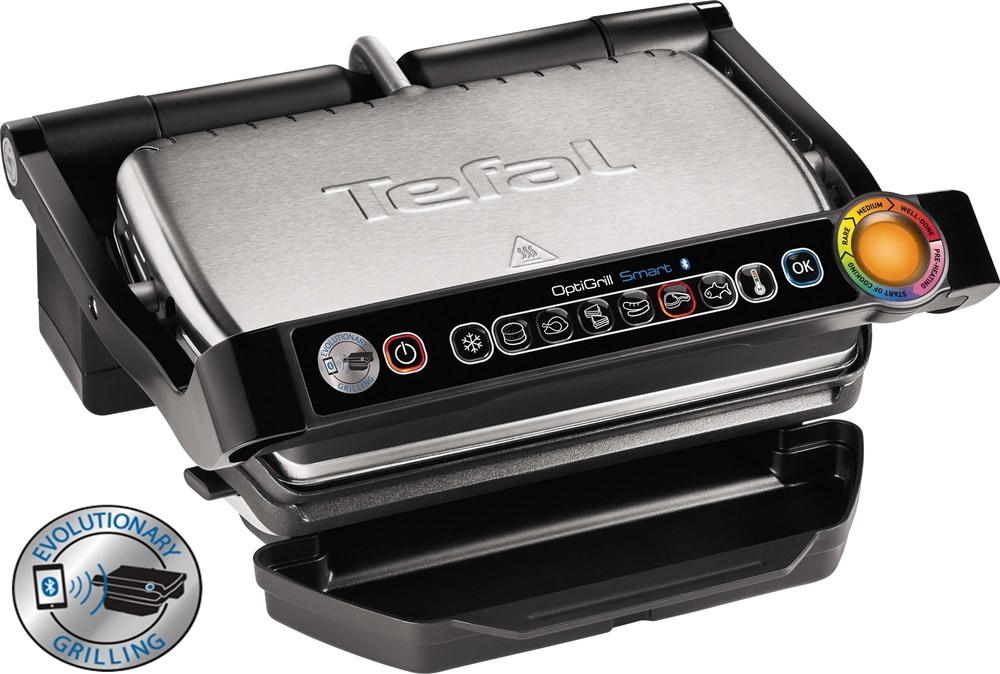 tefal optigrill gc730d smart mit app steuerung grills computeruniverse. Black Bedroom Furniture Sets. Home Design Ideas