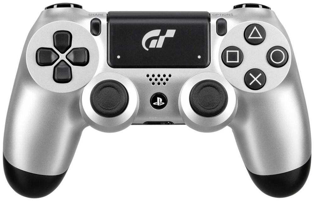 Sony Dualshock 4 Wireless Controller v2 Gran Turismo Edition silber ...