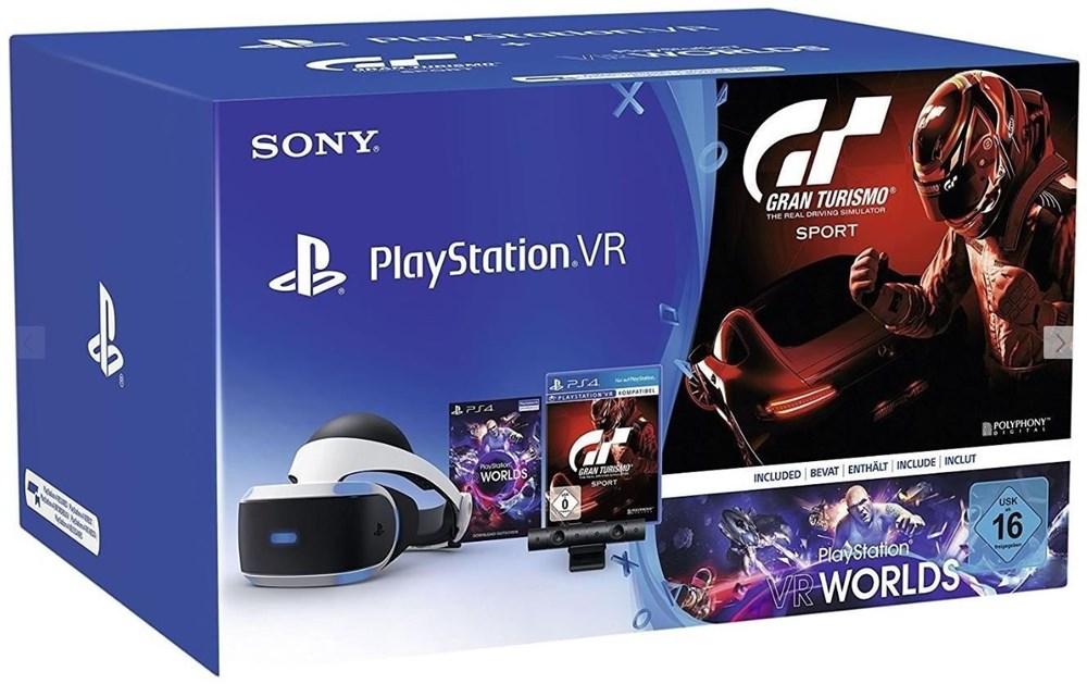 Sony PlayStation VR Sony Virtual + GT Sport (Gran Turismo Sport ...