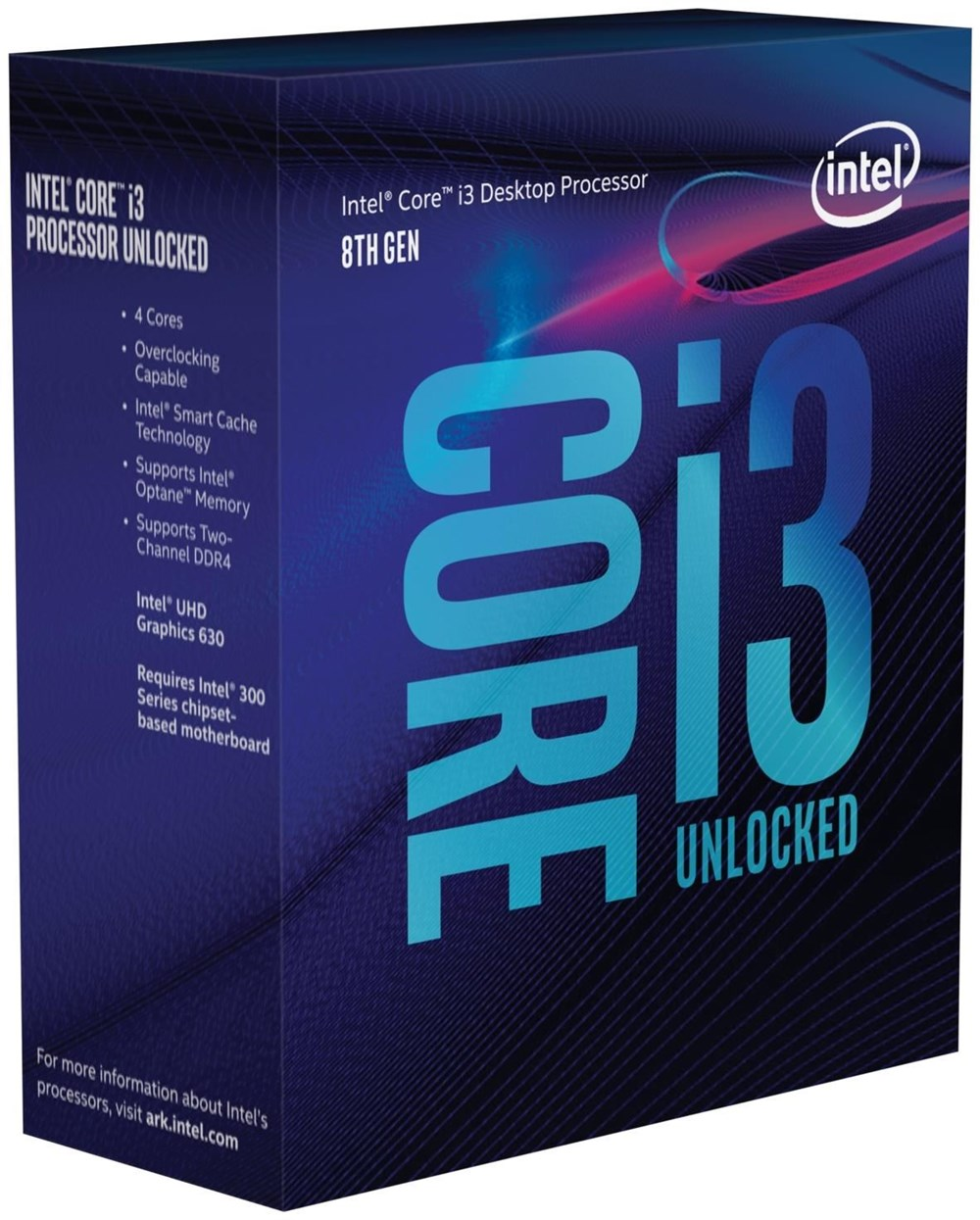 "Intel Core i3-8350K ""Coffee Lake"" Boxed Sockel 1151-v2 BX80684I38350K"